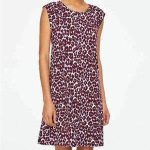 LOFT outlet • Cheetah Print Cap Sleeve Swing Dress